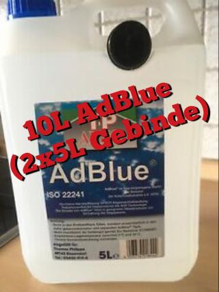 10 Liter Adblue ISO 22241 in 2x 5L Gebinde