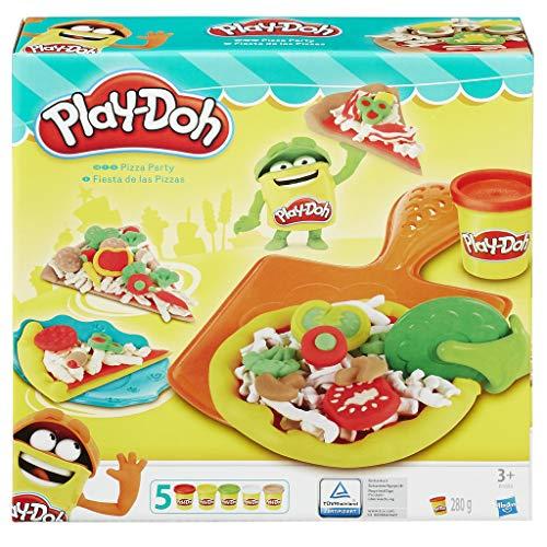 Hasbro Play-Doh - Pizza Party, inkl. fünf Dosen Knete für 6,80€ (Amazon Prime & Real Abholung)