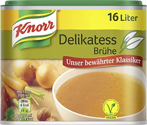 (Amazon Prime) Knorr Würzbasis Delikatess Brühe vegan, 6er Pack (6 x 329 g)