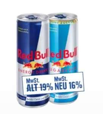 [Edeka]; RedBull, 0.85€ pro 250ml Dose, zzgl. 0.25€ Pfand, versch. Sorten