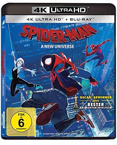 Spider-Man: A New Universe 4K (4K UHD + Blu-ray) für 16,56€ (Amazon Prime)