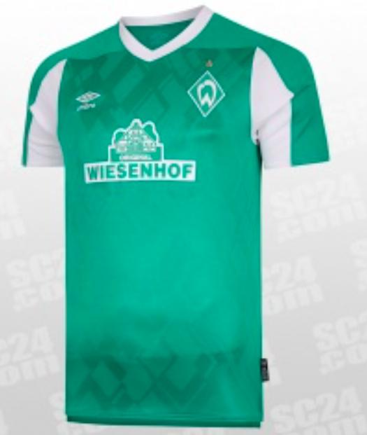 SC24 Werder Bremen Heim Trikot 2020/21