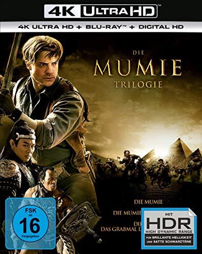 Die Mumie - Trilogy (4K Blu-ray + Blu-ray) für 24,91€ inkl. Versand (Amazon.it)