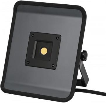 Brennenstuhl Compact LED-Leuchte (30W, 2200lm, 5700K, Steckdose auf der Rückseite, 5m-Kabel, IP54)