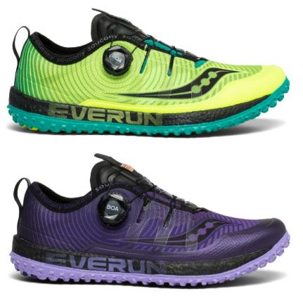 saucony Switchback ISO Trailrunningschuhe in je 2 Farben für Damen und Herren