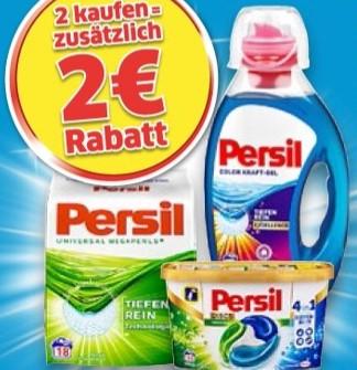 [Kaufland] Persil 2 kaufen, 2 € sparen als Sofortrabatt direkt an der Kasse