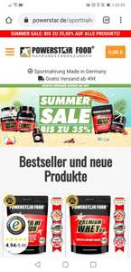 35% bei Powerstar Food