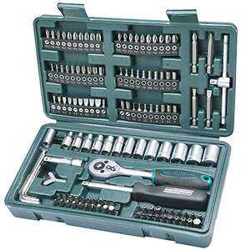 [Prime] Amazon - Brüder Mannesmann M29166 Steckschlüssel und Bitsatz, 130-tlg