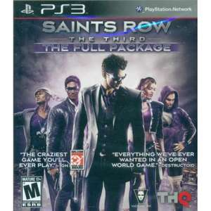 Saints Row: The Third FULL PACKAGE (PS3 & X360) für 19,38€ @ play-asia.com