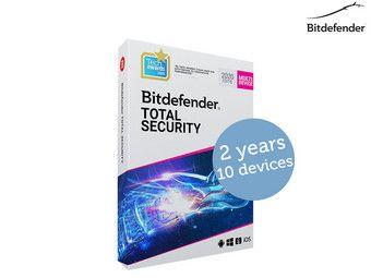 Bitdefender Total Security 202010 Geräte (2 Jahre)