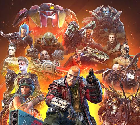 Quake Champions - 1 Match zur QuakeCon spielen und alle Champions kostenlos freischalten