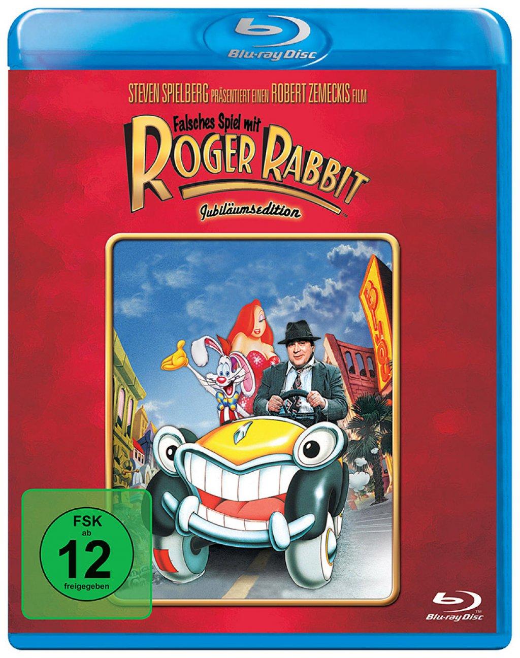 Falsches Spiel mit Roger Rabbit - Jubiläumsedition (Blu-ray) für 6,81€ (Amazon Prime)