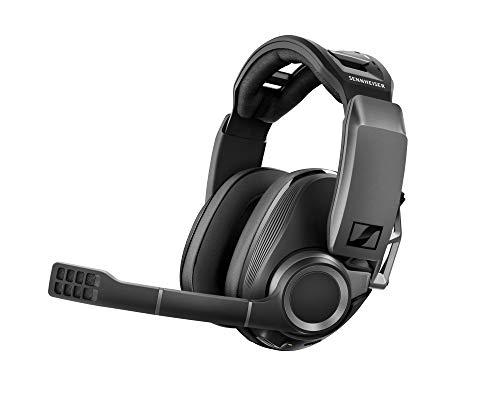Sennheiser GSP 670 Wireless Gaming Headset, 7.1 Surround Sound, Noise-Cancelling, Bluetooth, Flip-to-Mute, Kabellose Kopfhörer PC, PS4