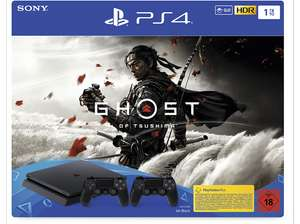 [Saturn] Bundle SONY PlayStation®4 SLIM 1TB + Ghost of Tsushima + 2 DS4 Controller