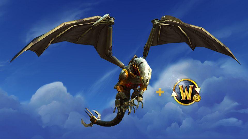 Dampfschuppeneinäscherer (Mount) zu jedem 6 Monats Abo [World of Warcraft]