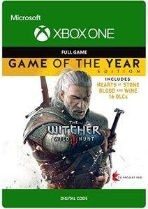 The Witcher 3: Wild Hunt - Game of the Year Edition (Xbox One) für 11,19€ (CDKeys VPN UK)