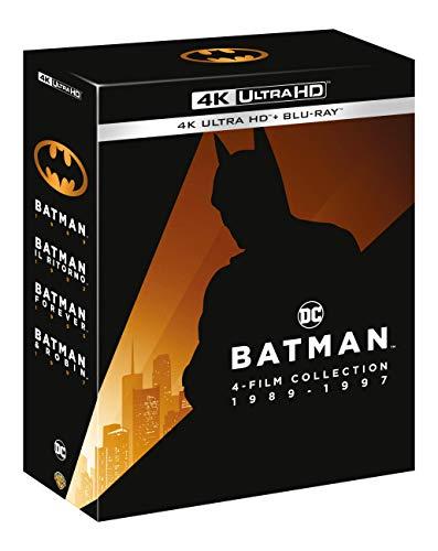 Batman (1-4) Collection 4K (4K UHD + Blu-ray) für 34,85€ (Amazon IT)