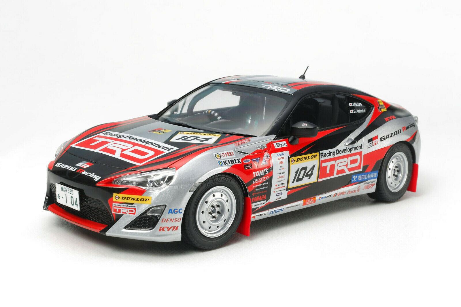TAMIYA 1:24 GAZOO Racing TRD 86 2013 Rallye Ch. Bausatz für 24,36€ (Saturn Abholung)