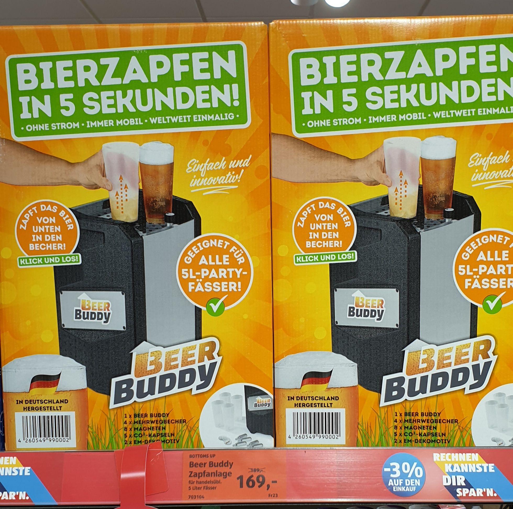RESTEDEAL!! Lokal Aldi-Süd Reichelsheim Odenwald BEER BUDDY ZAPFANLAGE