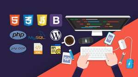 (4.5*-2480 ratings/308 Vorträge/49 Stunden) The Complete 2020 PHP Full Stack Web Developer Bootcamp - Udemy