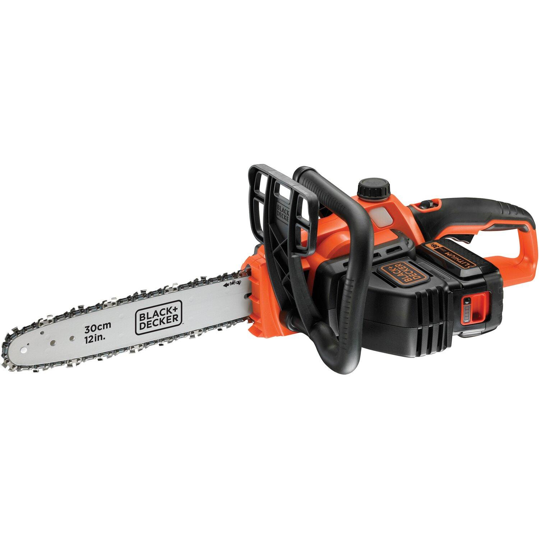 [OBI, Oschatz] Black+Decker Akku-Kettensäge GKC3630L20 36 V 2,0 Ah 30 cm Schwertlänge für 39€