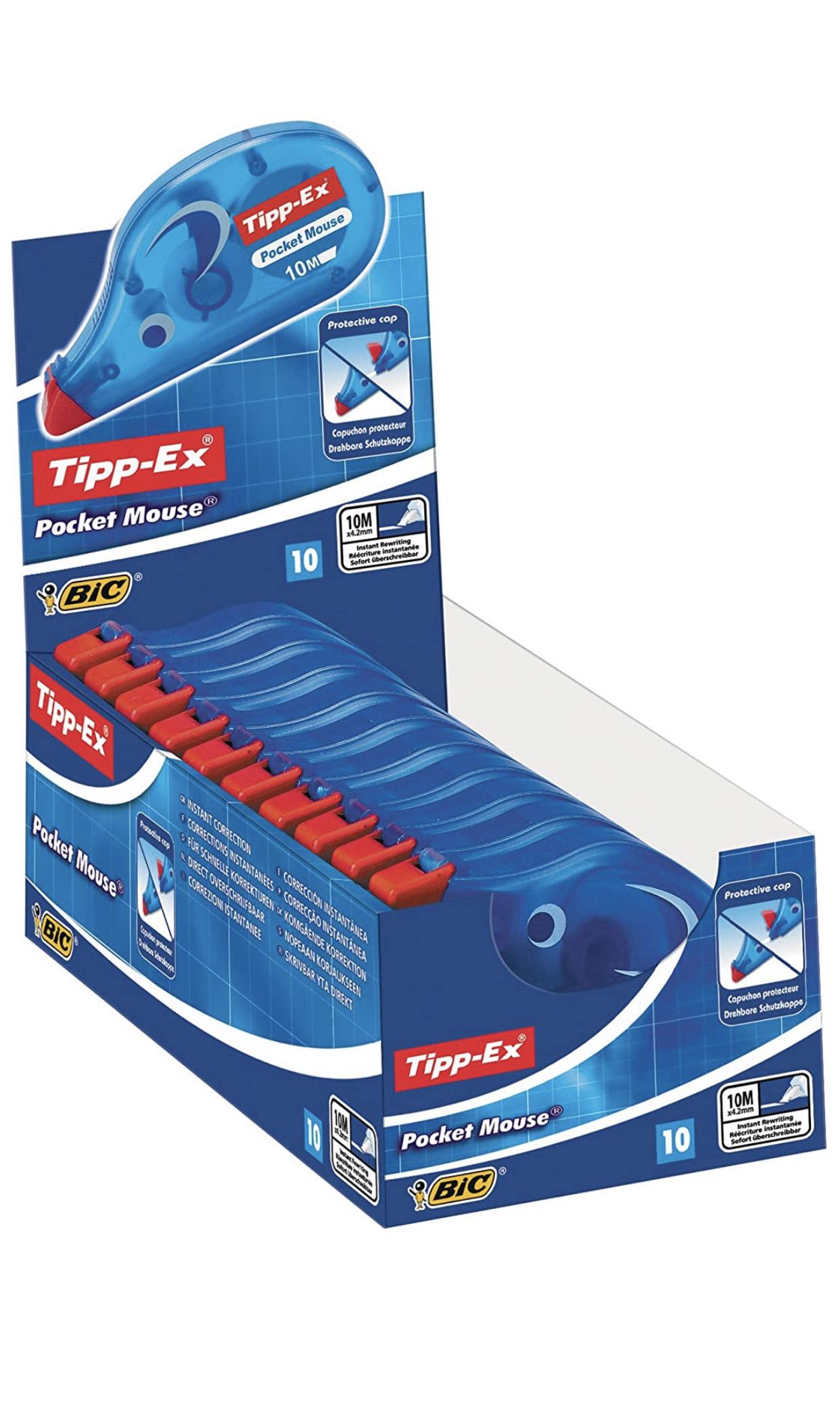 Tipp-Ex Pocket Mouse 10 Stück *Prime*