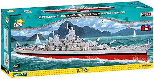 Cobi Schlachtschiff USS Iowa BB-61 / Missouri BB-63 2-in-1 Modell für 89,67€ (Amazon)