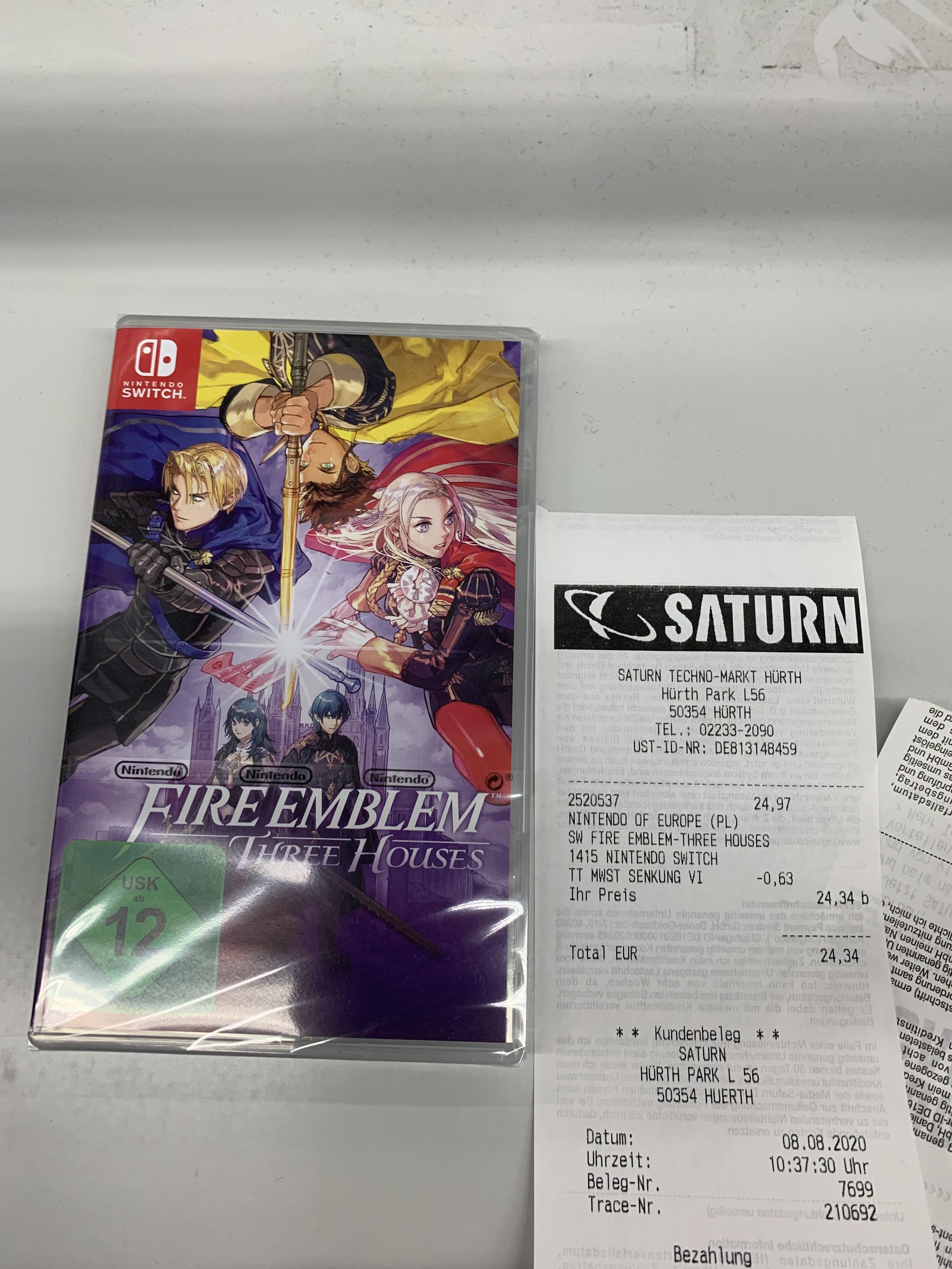 Fire Emblem Three Houses Nintendo Switch - Lokal Saturn Hürth