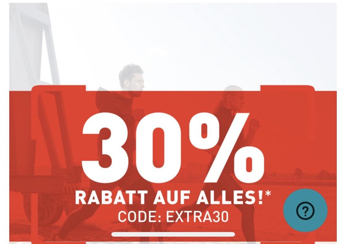 Runnerspoint - Online 30% auf alles, auch auf reduzierte Ware
