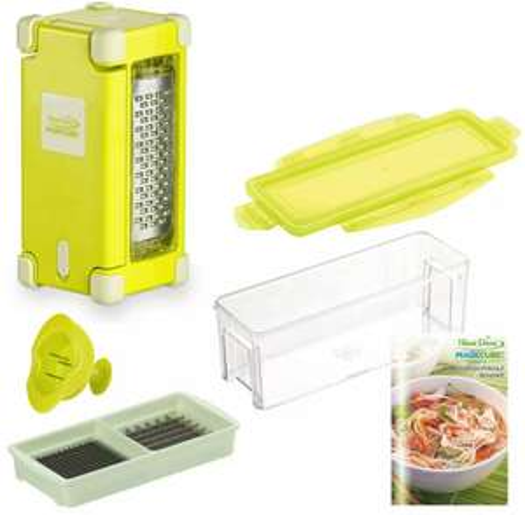 Nicer Dicer Magic Cube Gourmet 7tlg - Gemüseschneider & - hobel