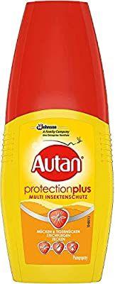 Autan Tropical oder Protection Plus(für 2,78€) Pumpspray, Zecken, Insekten und Mückenschutz für Körper & Gesicht, 100 ml - Prime*Sparabo*