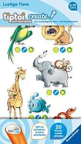 tiptoi® CREATE Sticker Lustige Tiere & Meerestiere für je 3,59€ ( Amazon Prime)