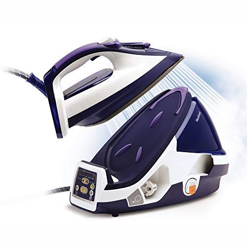 Tefal GV8977 Pro X-Pert Plus Dampfbügelstation 2.400W, Dampfstoß 450 g/, lila/weiß