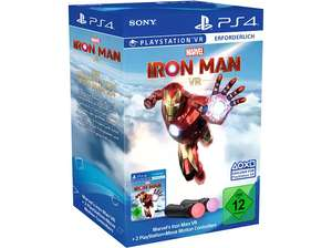 Marvel's Iron Man VR (PS4) + Move Motion-Controller - Twin Pack Bundle für 87,75€ (Müller Abholung)