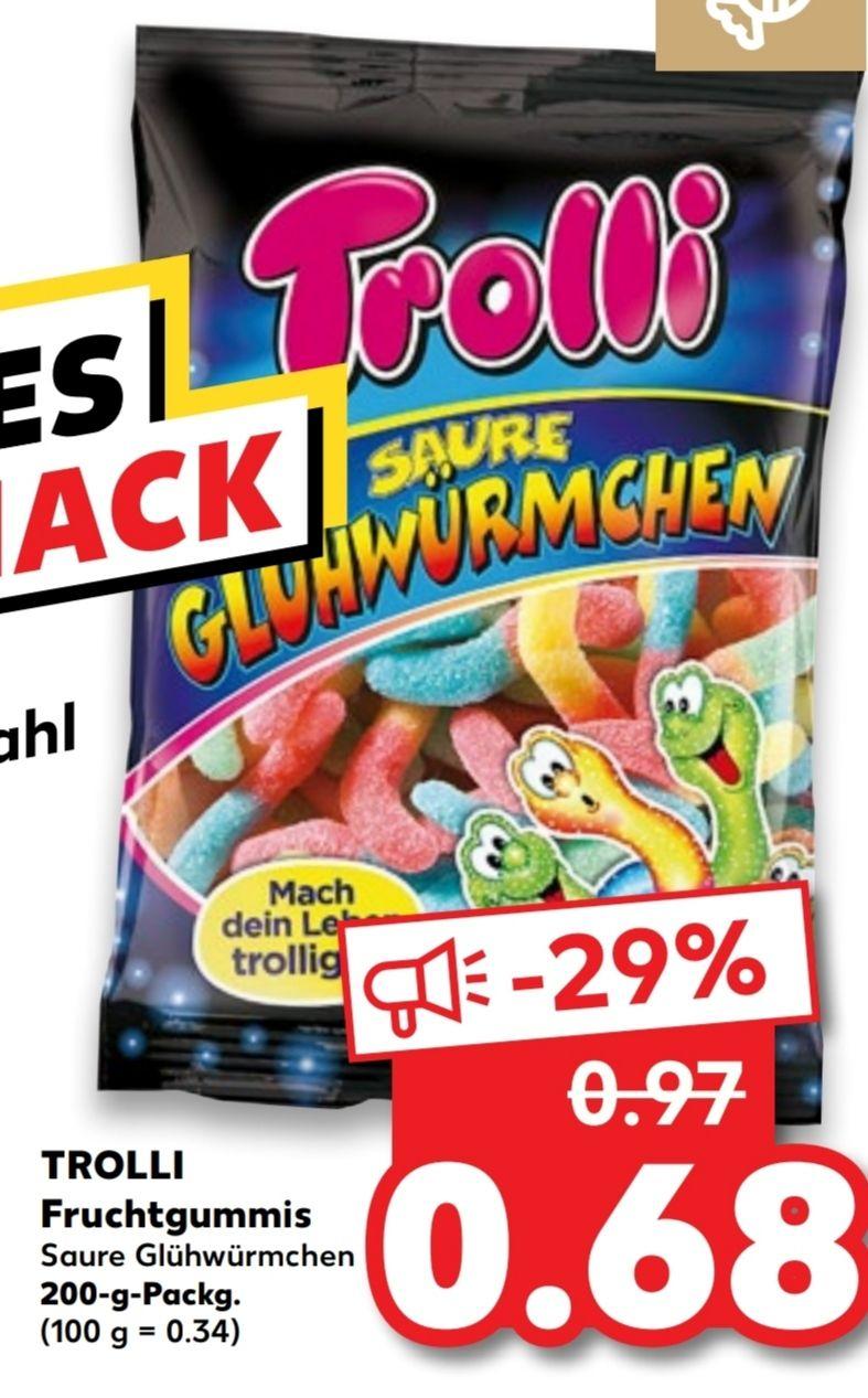 [Kaufland Do-Mi] Trolli Fruchtgummi versch. Sorten für 0,68€
