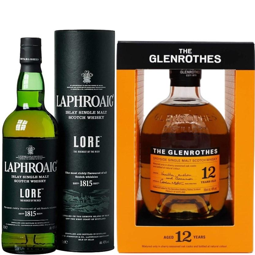 Whisky-Übersicht #42: Coupon-Festival bei Amazon - zahlreiche Bestpreise, z.B. Laphroaig Lore für 50,61€, Glenrothes 12 für 34,23€ inkl. VK