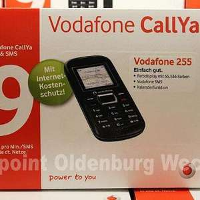 [lokal Oldenburg Telepoint Wechloy] Vodafone 255 CallYa Paket als kostenlose Zugabe.