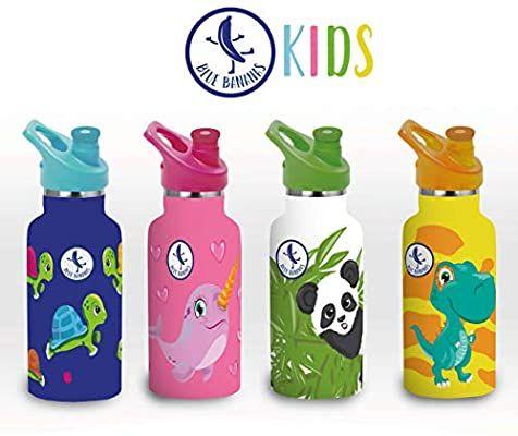 Blue Bananas 350 ml doppelwandige Edelstahl-Trinkflasche Kids, EDEKA [regional siehe Beschreibung]