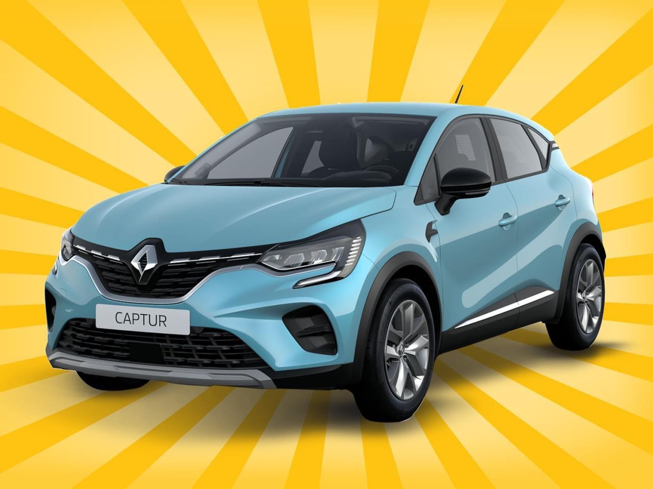 Renault Captur LF 0,42 Leasing 12 Monate für Gewerbetreibende
