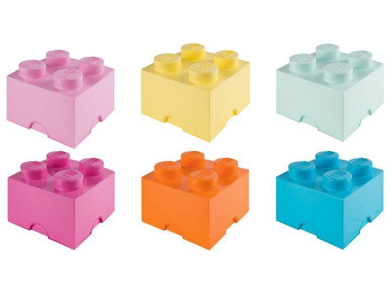LEGO 4118 zwei stapelbare Aufbewahrungssteine 4 Noppen, versch. Farbkombinationen, offline 19,39€ online 24,22€, ab 17.08.20 bei Lidl