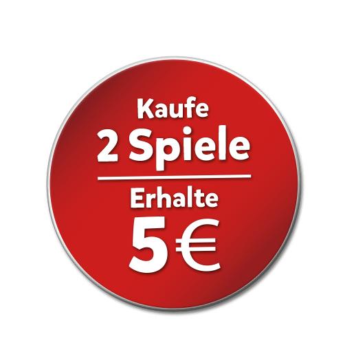 Beim Kauf von 2 Ravensburger Spielen 5€ Erstattung erhalten