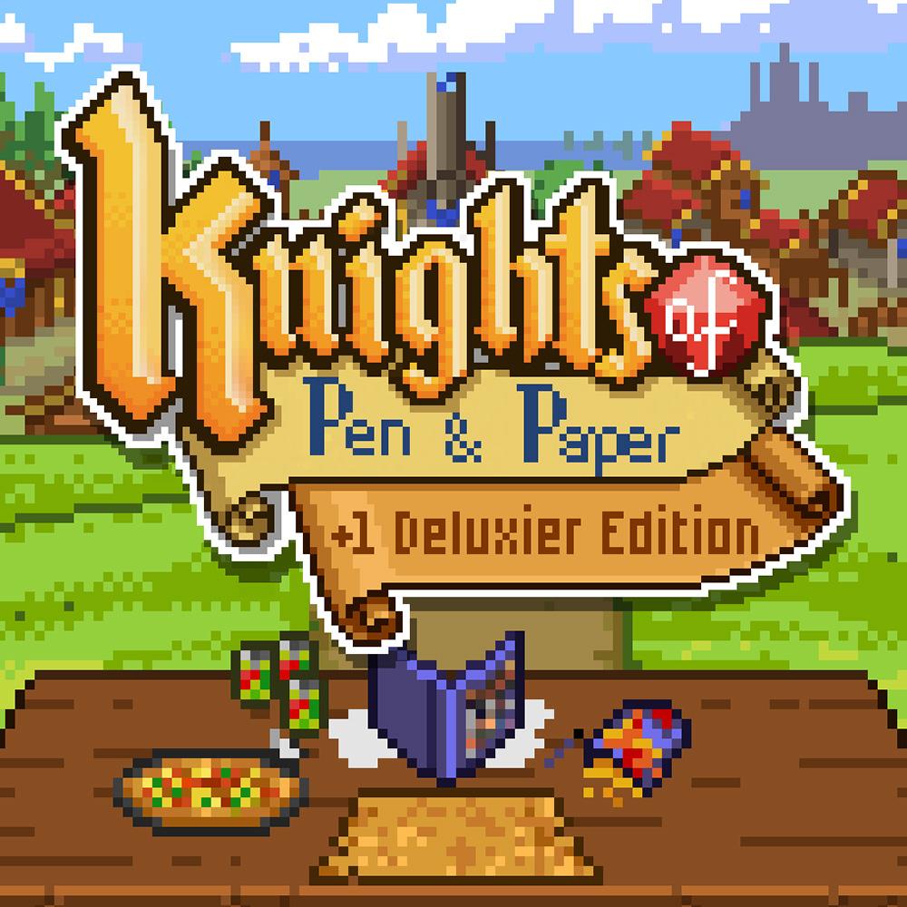 Knights Of Pen And Paper +1 Deluxier Edition (Switch) für 5,99€ oder für 3,79€ ZAF (eShop)