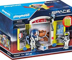"Playmobil Space - Spielbox ""In der Raumstation"" für 12,43€ (Amazon Prime & Real Abholung)"