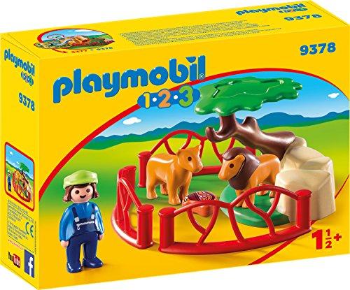 Playmobil 1.2.3 - Löwengehege (9378) für 6,53€ (Amazon Prime & Real Abholung)