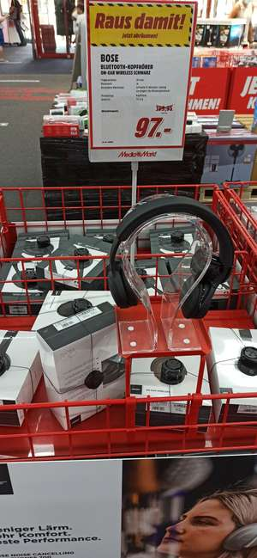 Bose On-Ear Wireless [Lokal mediamarkt weiterstadt]
