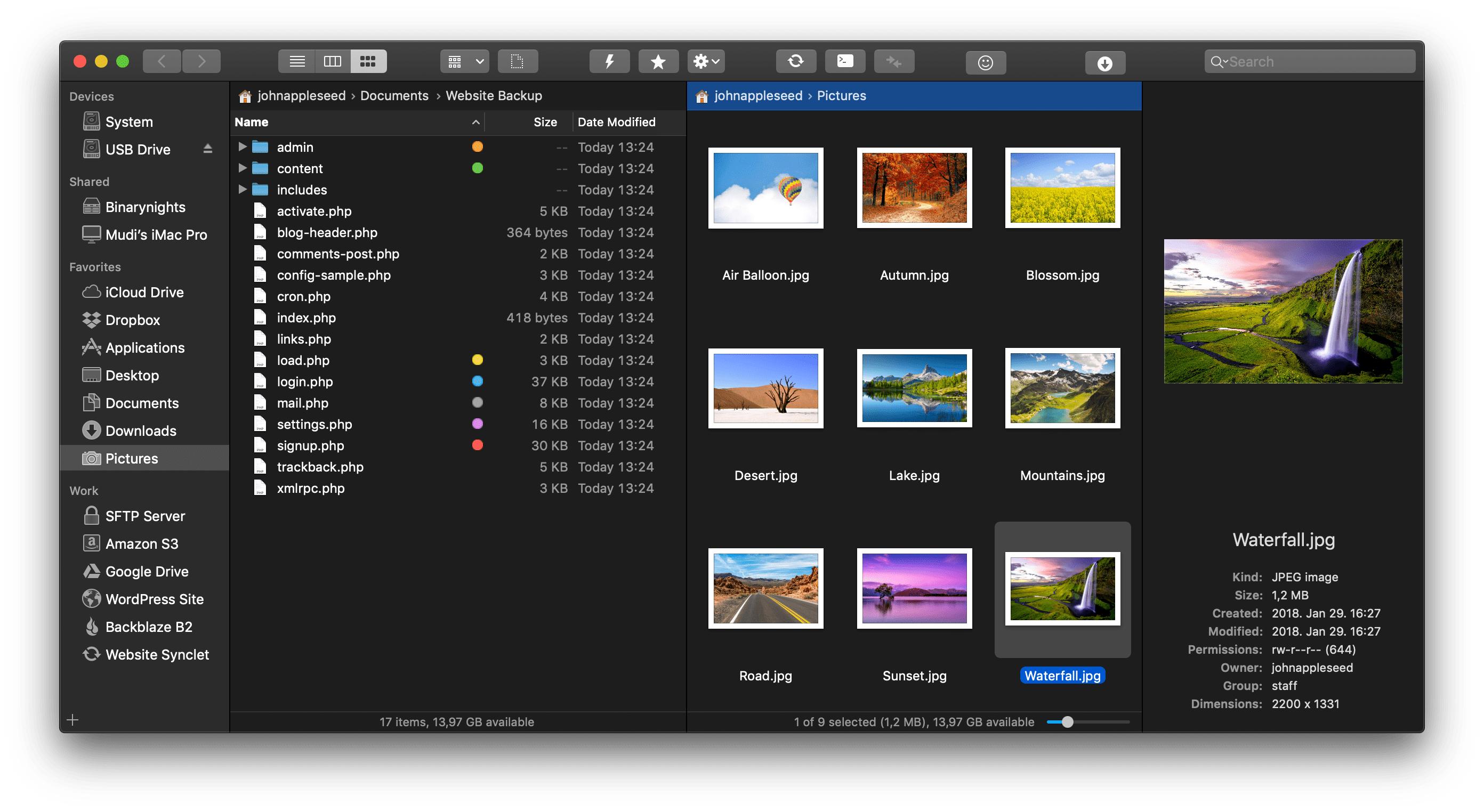 PathFinder, Forklift sind jetzt für je 8USD verfügbar. Mac App Finder Alternative
