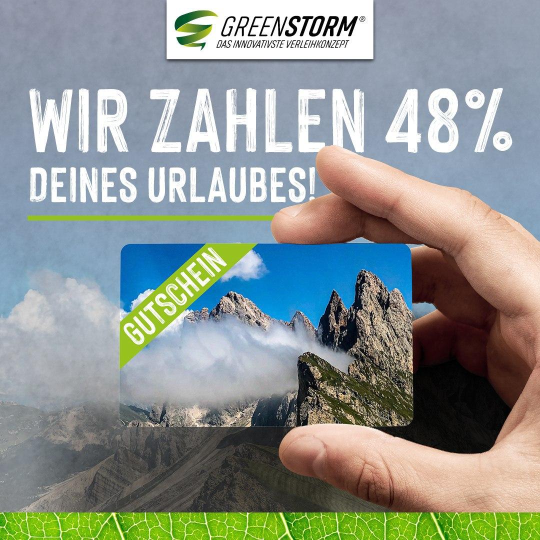 [greenstormhotels.com] MINUS 48% - CLEVER & EINFACH REISEN MIT URLAUBSGUTSCHEINEN!