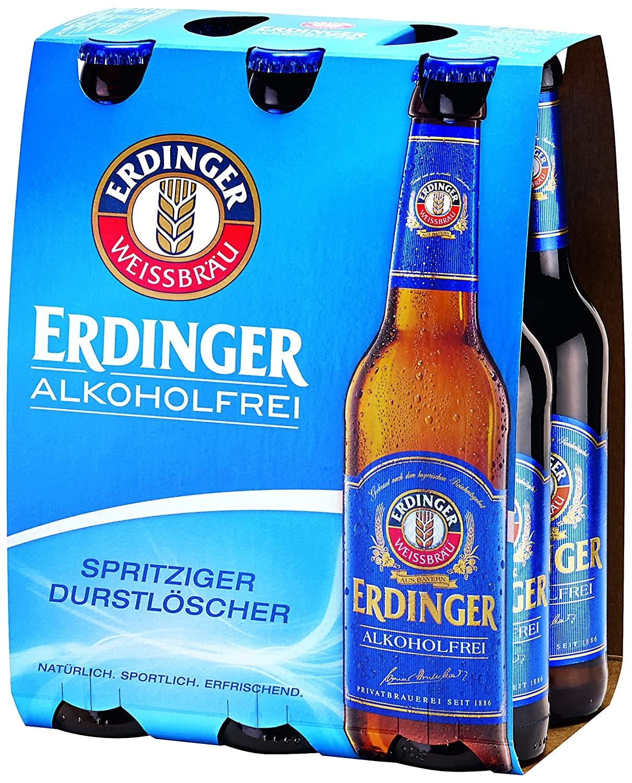 (real Oststeinbek) Erdinger Alkoholfrei 6x 0,33 für 2€