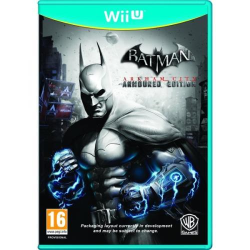 [Wii U] Batman Arkham City: Armoured Edition wieder für 24,98€ bei Shop4de