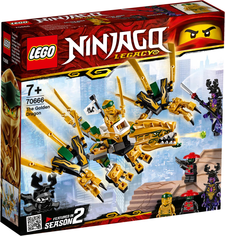 LEGO Ninjago - Goldener Drache (70666) für 11,70€ (Müller Abholung)